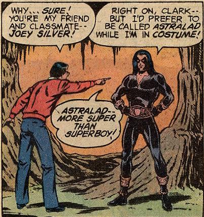 Clark Kent calls out Astralad