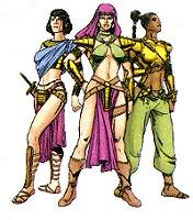 The Amzons of Bana-Migdhall
