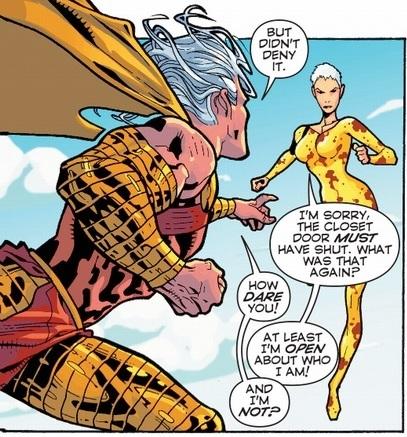Lady Quark vs Lord Volt
