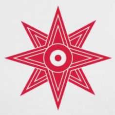 Astarte's symbol is a star within a circle indicating the planet Venus