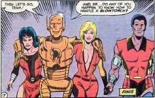 Negative Woman and the new Doom Patrol