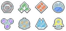 Sinnoh League Badges
