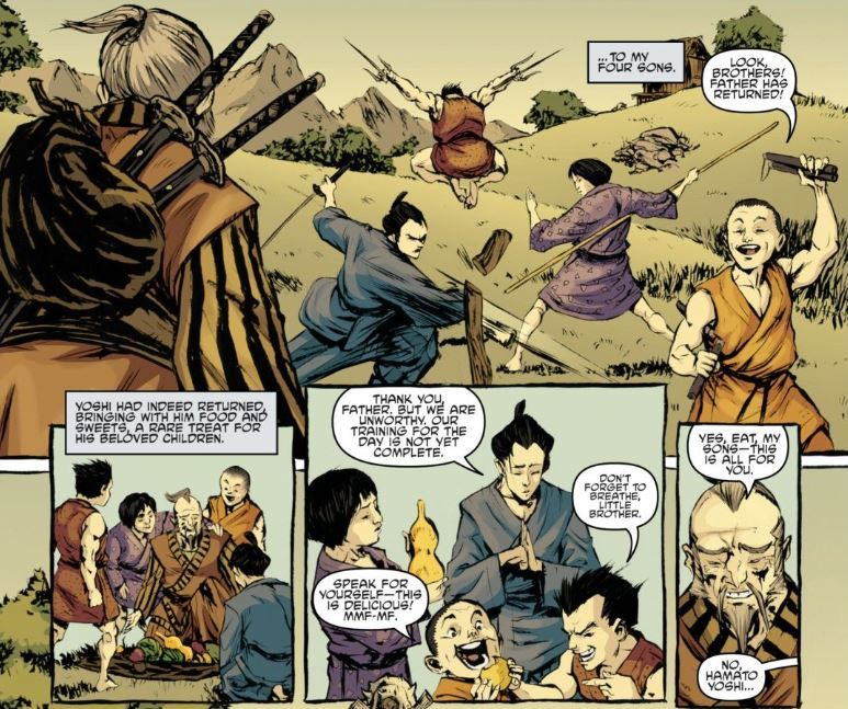 Eastman, K., Waltz, T., Duncan, D., & Santolouco, M. (2011). Teenage Mutant Ninja Turtles. Issue 5. IDW Publishing