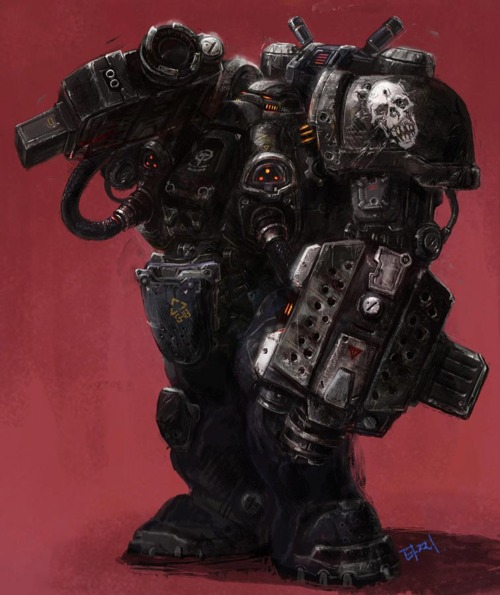 Marauder: Uses the same suit as the firebat but instead is equipped with large grenade launchers