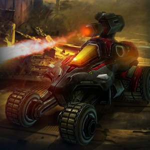Hellions: Hellions are light recon vehicle that can be deployed with a flamethrower