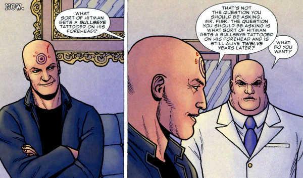 Kingpin hires Bullseye to kill the Punisher
