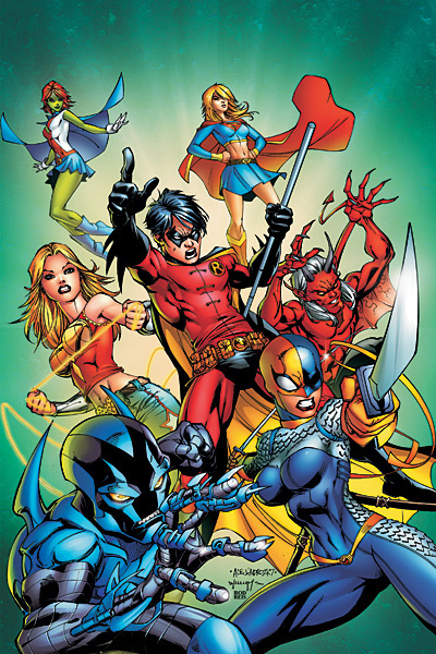 Supergirl and the Titans