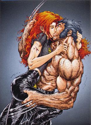 Jean & Wolverine