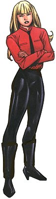 In X-Corps costume