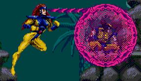 X-Men game aiding Wolverine