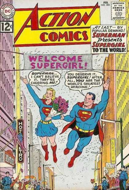 The World meets Supergirl
