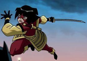Katana in Superman/Batman: Public Enemies
