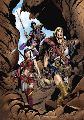 Sif early adventures with Thor and Balder