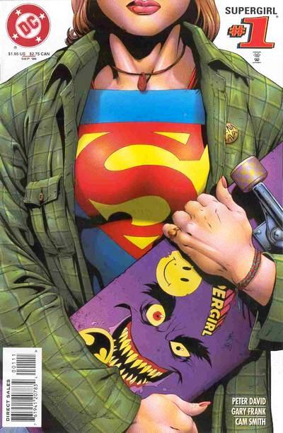 Linda Danvers in the conver of Supergirl