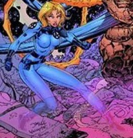 Invisible Woman in Heroes Reborn