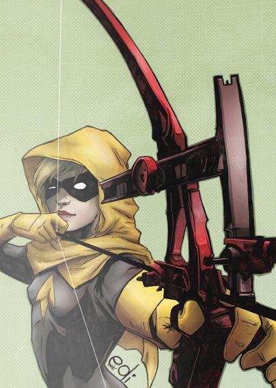 The archer Mia Dearden