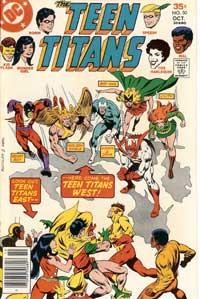 Teen Titans VS TT West
