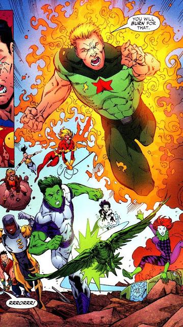 The Titans VS Superboy Prime