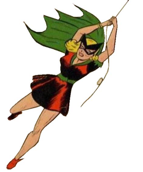 Bette as Batgirl
