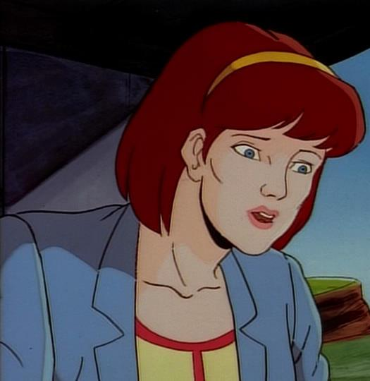 Moira in X-Men: The Animated Series.