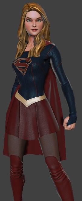 CBS´ Supergirl in DC Universe Online