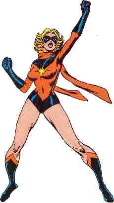 Ms Marvel's original costume