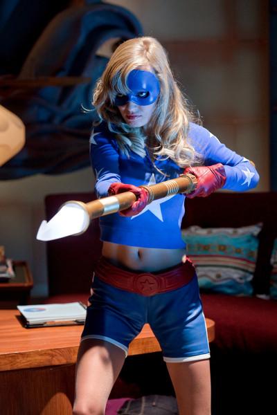 Britt Irvin as Stargirl in Smallville