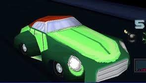 Ivy's car in Batman: Gotham City Racer