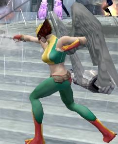 Hawkgirl in Justice League Heroes