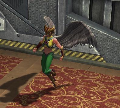 Hawkgirl in DC Universe Online