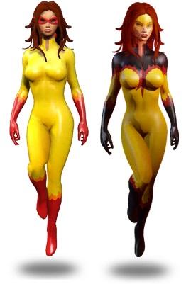 Firestar in Marvel Heroes
