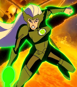 Boodika in Green Lantern: Emerald Knights.