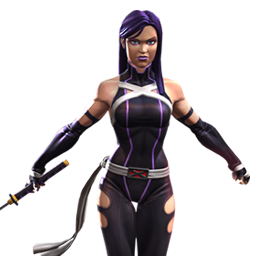 Psylocke in Marvel Contest of Champions