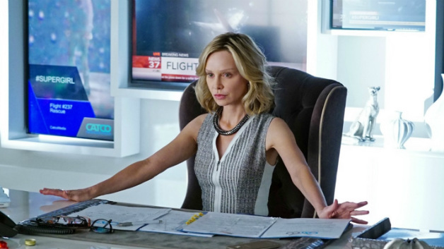 Calista Flockheart as Cat Grant in Supergirl