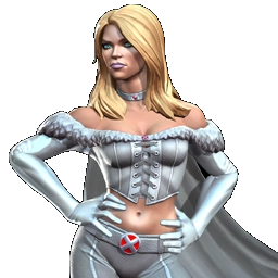 Emma Frost in Marvel Conster of Champions