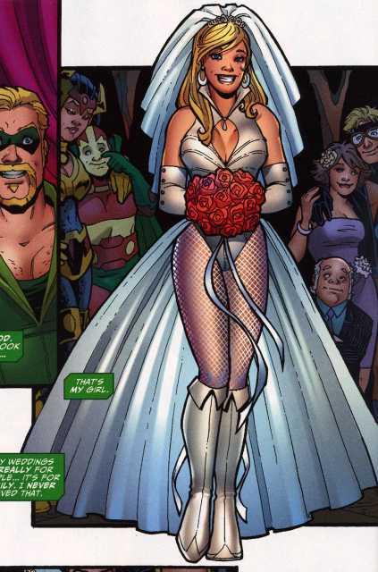 Black Canary's wedding