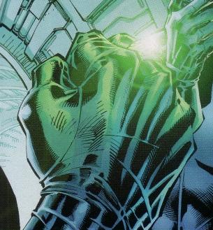 Kryptonite ring worn by Batman