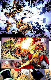Thor kill's Angrir ( Thing )