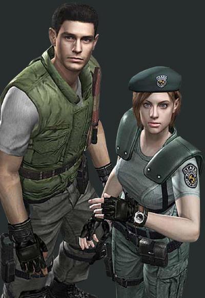 Chris and Jill