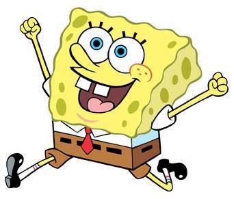 Spongebob, an underwater sea sponge