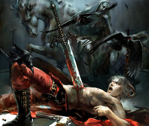 Dante gets impaled in every game