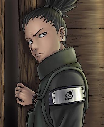Shikamaru, Asuma's Student