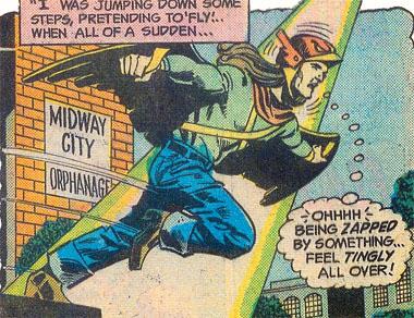 Parker idolized Hawkman
