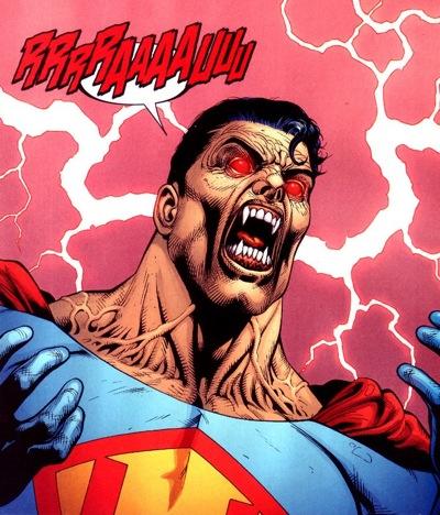 Vampire Ultraman--art by Doug Mankhe.