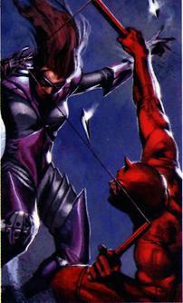In battle with Daredevil