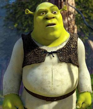 Shrek from the movies