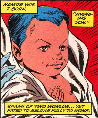 Namor as a Baby