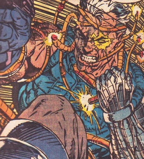 Cable puts up a valiant effort against Hodge.