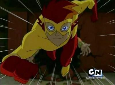 Kid Flash in Teen Titans
