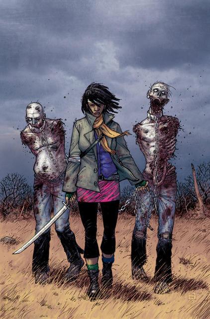 Michonne, Her Boyfriend, And His Best Friend